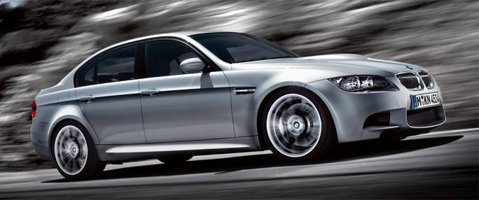 Fast Silver BMW